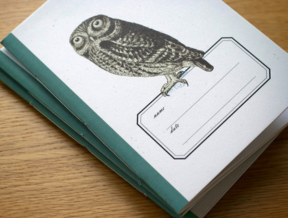 Morepork Pocket Size Notebook
