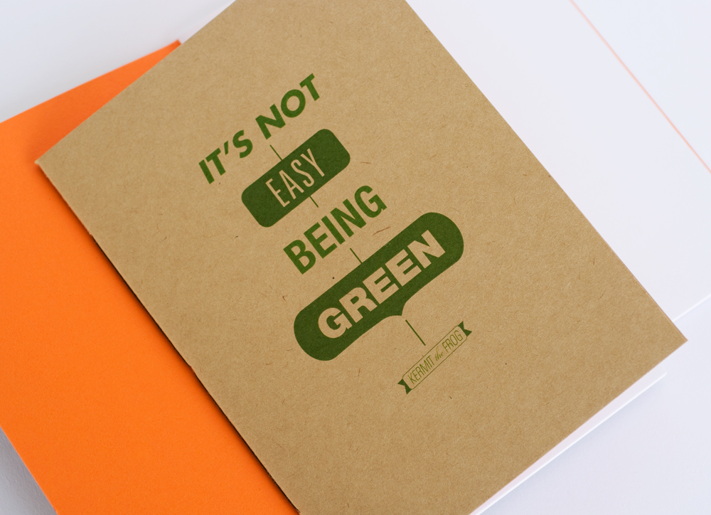 easy being green It's not easy being green  join dick and james strawbridge as they bring their expertise to green projects across the uk, and find out how environmentally friendly.