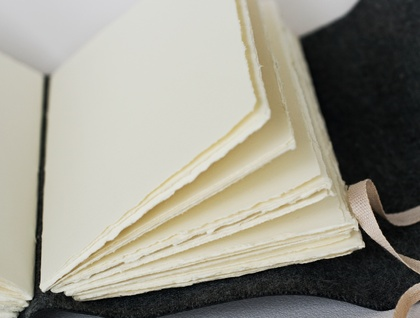 Fantail Long-stitched Journal