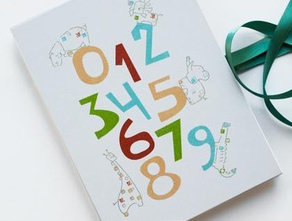 The Safari Numbers Concertina Album