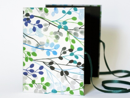 Indigo Tree concertina photo album