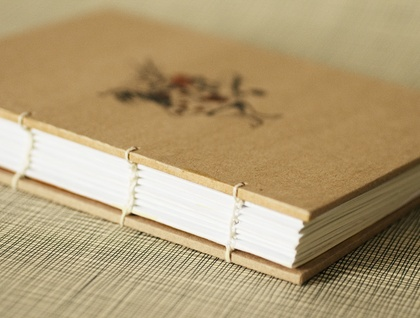 The White Rabbit  Coptic Bound Journal