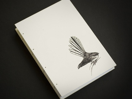 Fantail Coptic Bound Journal