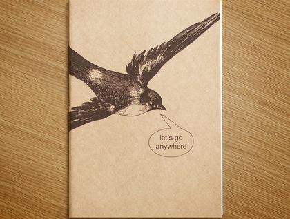 Let's Go Anywhere Notebook