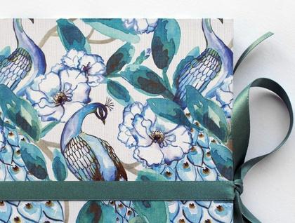 Peacock Palace concertina photo album