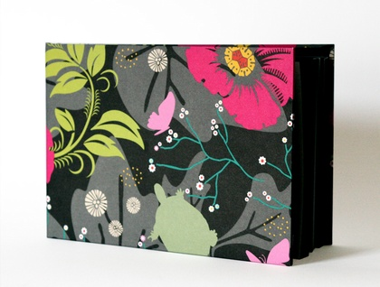 Small Floral Print Photo Album