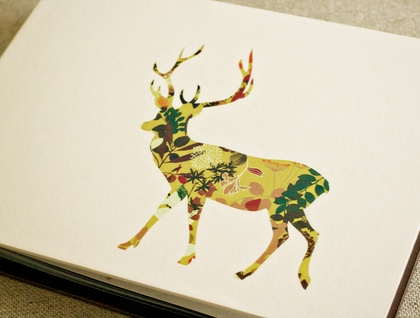 Frankly my deer A5 Photo Album