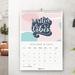 2020 Wall Calendar – Escape the Ordinary