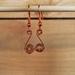 Copper Spiral Earrings    [2018-007]