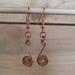 Copper Spiral Earrings   [2018-005]