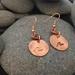 Copper Wave Earrings [2018-0046]