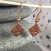 Copper North Star Earrings  [015]