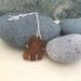Seaglass & Copper Pendant   [#300]