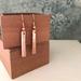 Copper Textured Earrings  [325]