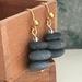 Rock Cairn Stack Earrings [350]