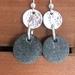 Silver & Rock & Earrings [#359]
