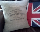 French Country Cushion Cover - free postage