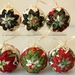 Fabric-covered Christmas Ornament