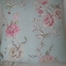 Linen  Floral Cushion cover