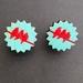 SALE - Three little birds - stud earrings