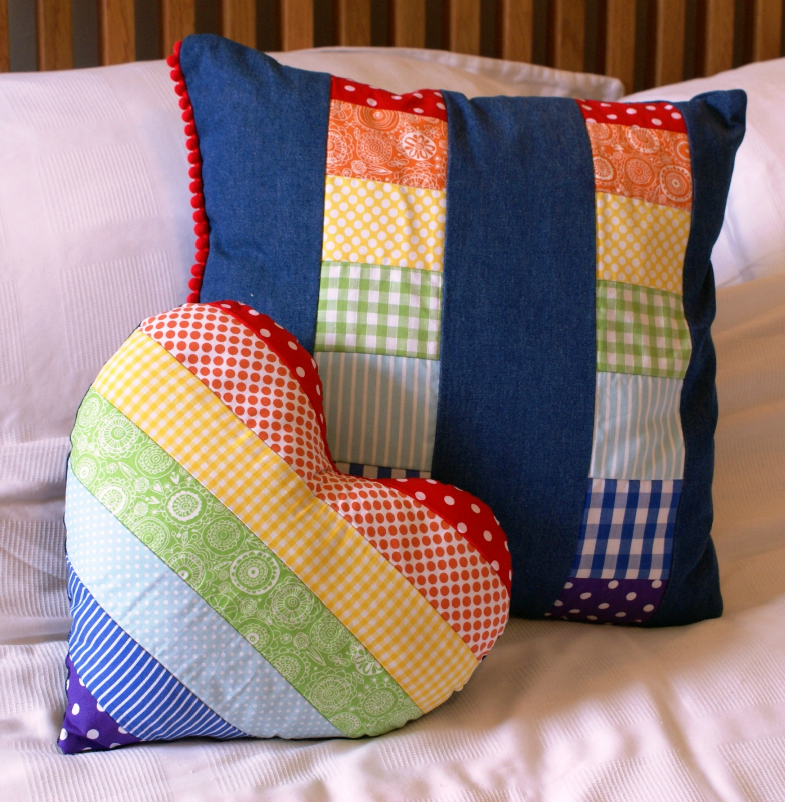 Подушка из квадратов сшить 105