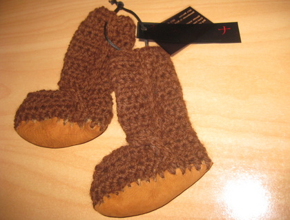 Toasty WOOL Baby Boots with SHEEPSKIN soles CUSTOM MADE AS ORDERED