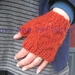 PDF PATTERN ONLY Chunky Knit Honeycomb Cable Fingerless Mittens with Thumb