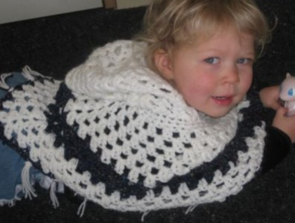 Baby/Toddler hooded poncho