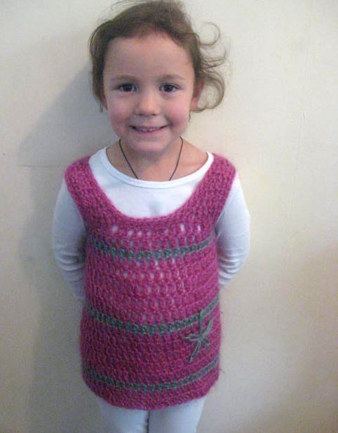 PDF PATTERN ONLY Baby Girl/Toddler Crochet Tunic Overdress ...