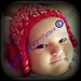 PDF PATTERN ONLY Newborn Rose Earflap Crochet Hat