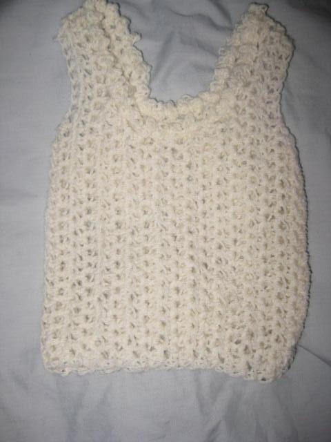 Crochet Patterns Nz : PDF PATTERN ONLY Crochet Baby Singlet Pattern - Unisex Felt