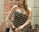 SUMMER SALE Stunning Gold Evening Poncho