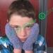 PDF PATTERN ONLY Ami Ana Chunky Knit Basket Stitch Unisex Child Mittens Pattern