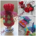PDF PATTERN ONLY Bejewelled Christmas-y/Easter Knitted Egg Cosy