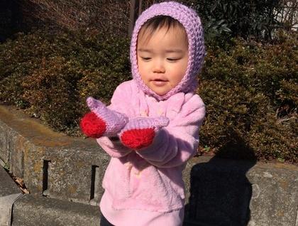 NZ WOOL Adorable Flowery Crochet Baby/Toddler Hood Custom Made to Order