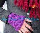 PDF PATTERN ONLYAmi Ana Chunky Knit Honeycomb Cuffs