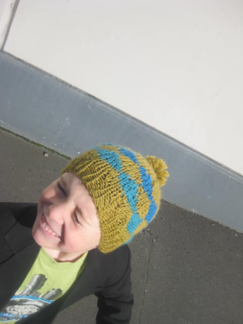 Pdf Pattern Only Ami Ana Almost Argyle Style Knitted Child Hat