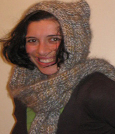 Lux Rib and Cable Knit Hooded Scarf PDF Pattern ONLY Felt