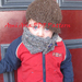 "PDF PATTERN ONLY The ""Mugsy"" Muffler - Knit Unisex Toddler/Child Buttoned Muffler"