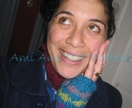 "PDF PATTERN ONLY Ami Ana Knit ""All my Diamonds in a row"" mitt-cuffs"