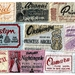 5 Iconic Blanket Label Postcards