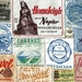 10 Iconic Blanket Label Postcards