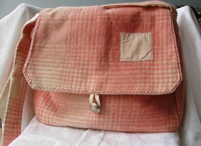 Pink tartan Roslyn Health Satchel #16