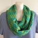 Merino fair isle infinity scarf