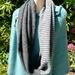 Infinity scarf, possum/merino/silk