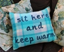 Cosy Blues Cushion