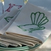 Fantail Napkins Green