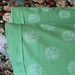 Green and White Floral - Cotton Pillowcases