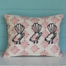 Three Fantails Cushion