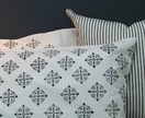 Black and White Pillowcases - Pair